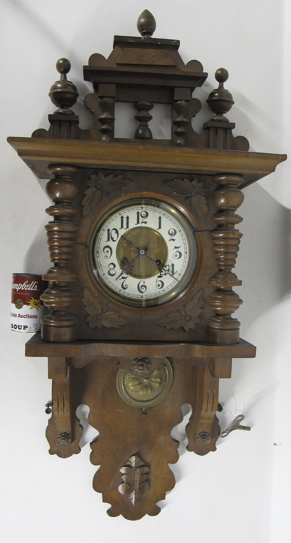 Antique clock swinger