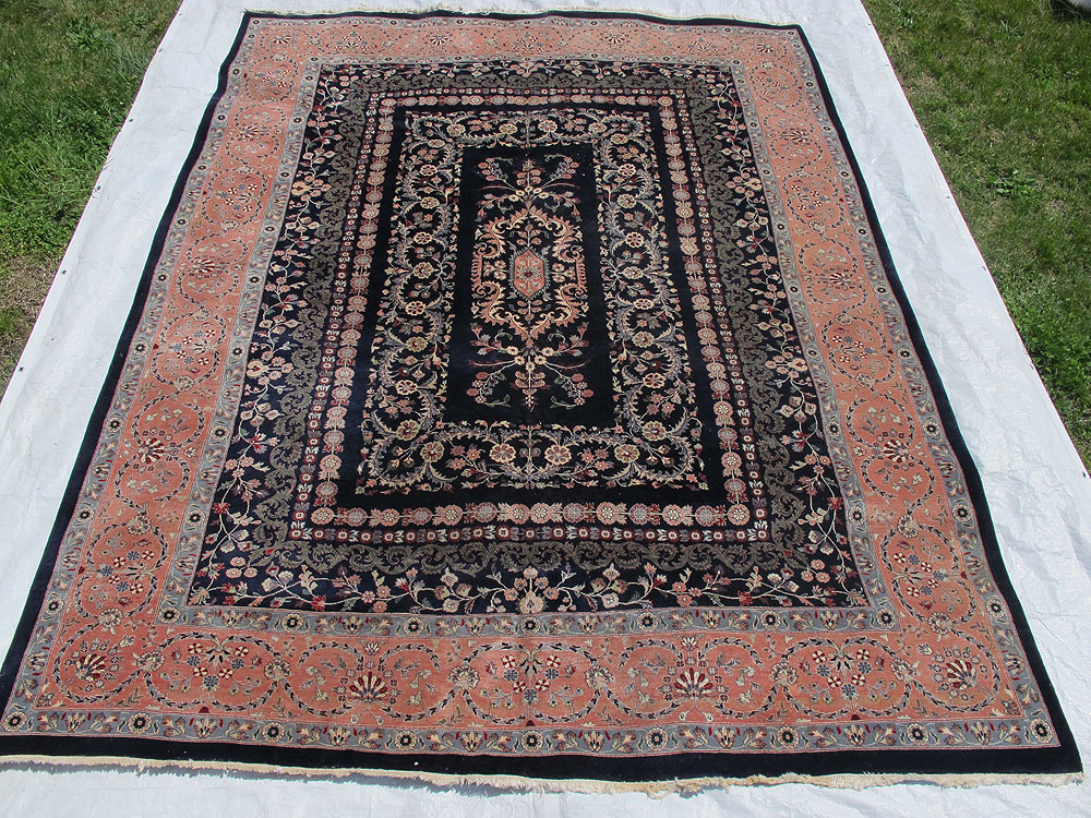 Estate Vintage Indo Persian Savonnerie French Style